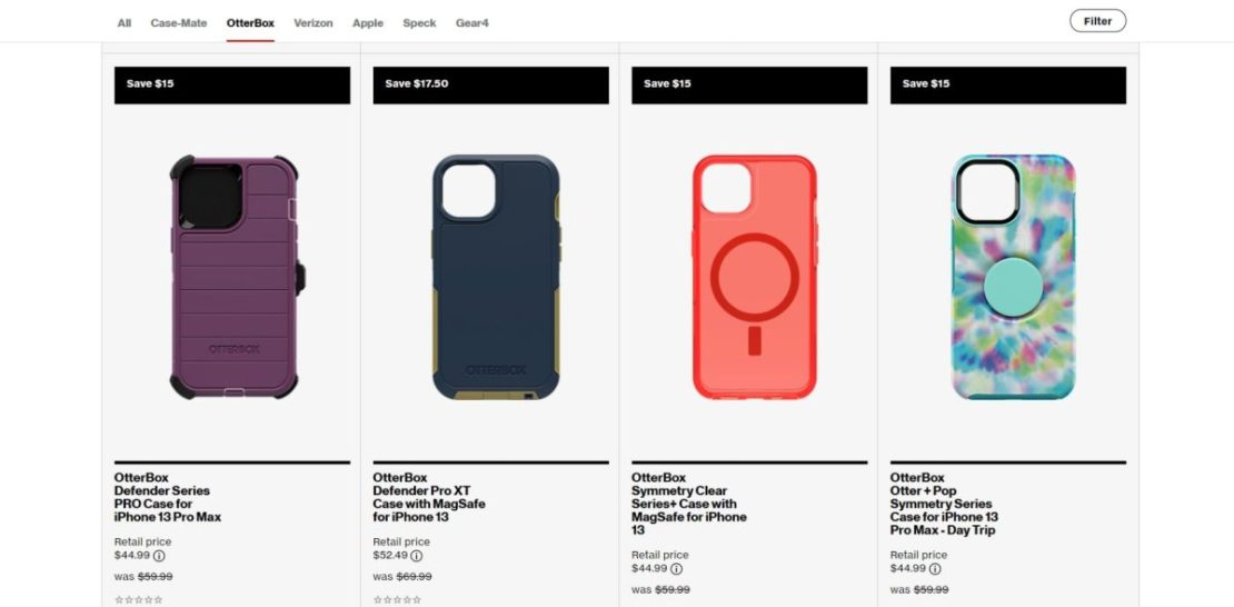 iphone 13 otterbox case deals
