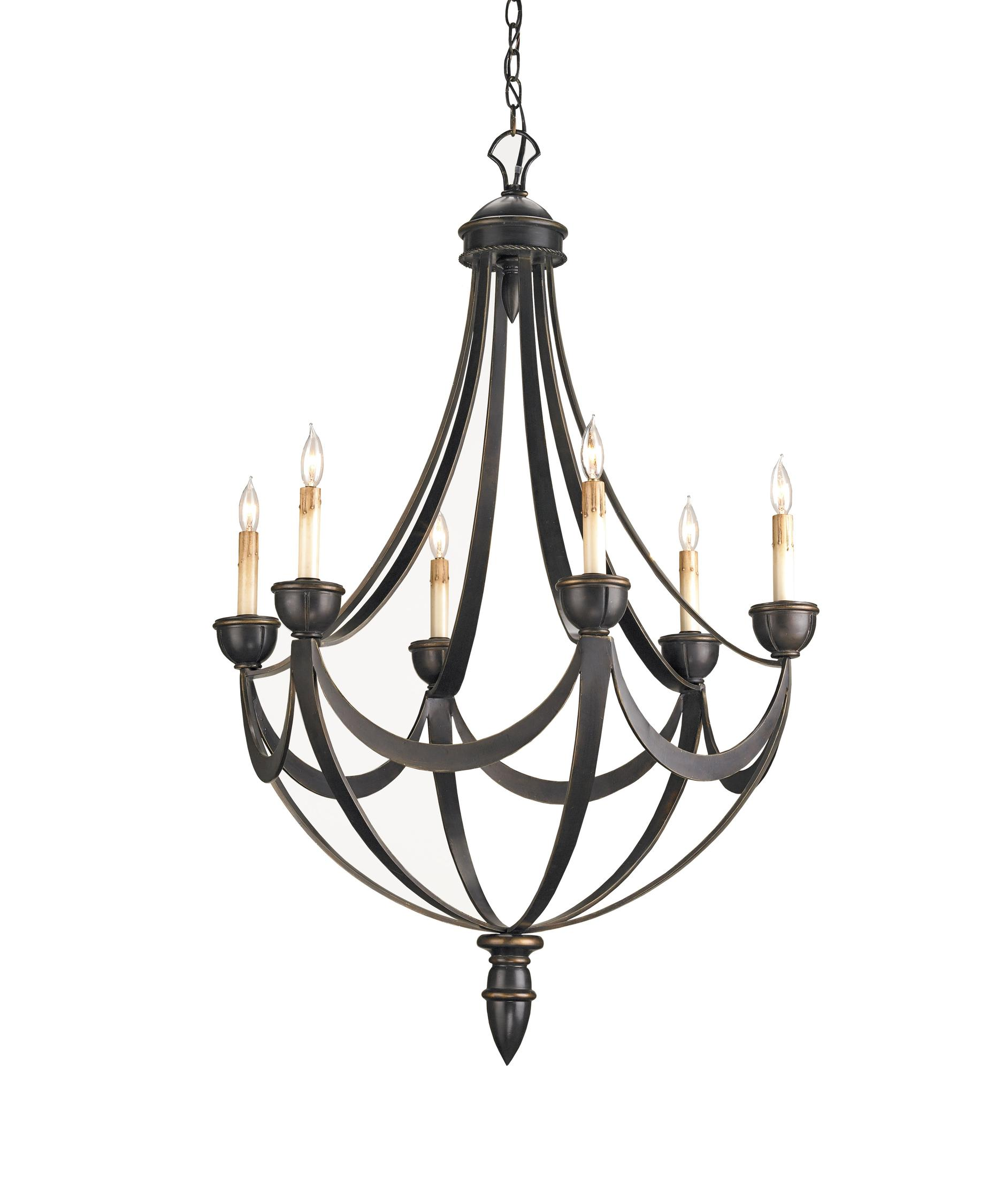 Currey And Company Palomino 28 Inch Chandelier