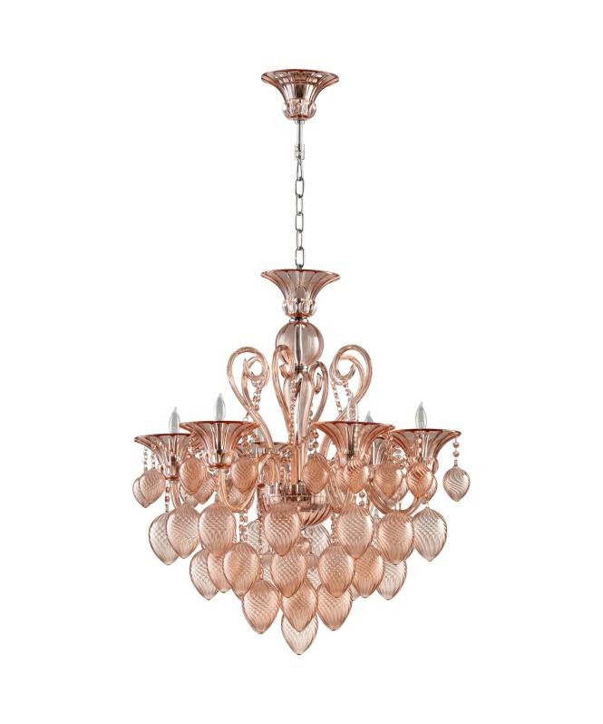 Shown With And Blush Glass