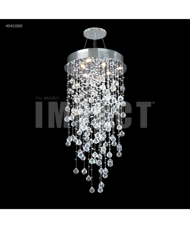 Shown In Silver Finish And Swarovski Clear Crystal