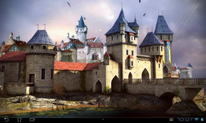 نتيجة بحث الصور عن Castle 3D Pro live wallpaper