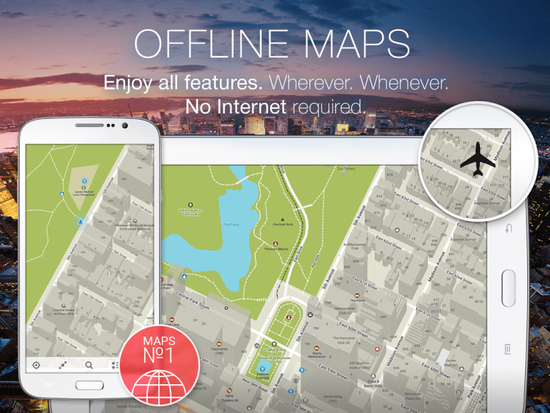 MAPS ME Offline Map Navigation 6 4 4 NineStore Download APK for         maps me offline map navigation screenshot 4
