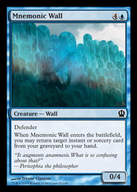 Magic The Gathering Theros Single Card Common Mnemonic