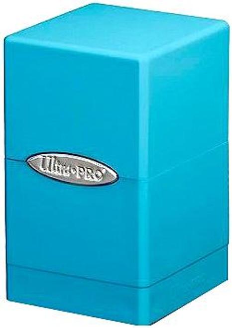 Ultra Pro Card Supplies Satin Tower Light Blue Deck Box