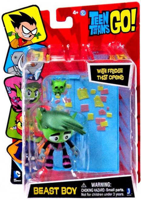Teen Titans Go Beast Boy 3 Figure Fridge That Opens Jazwares ToyWiz