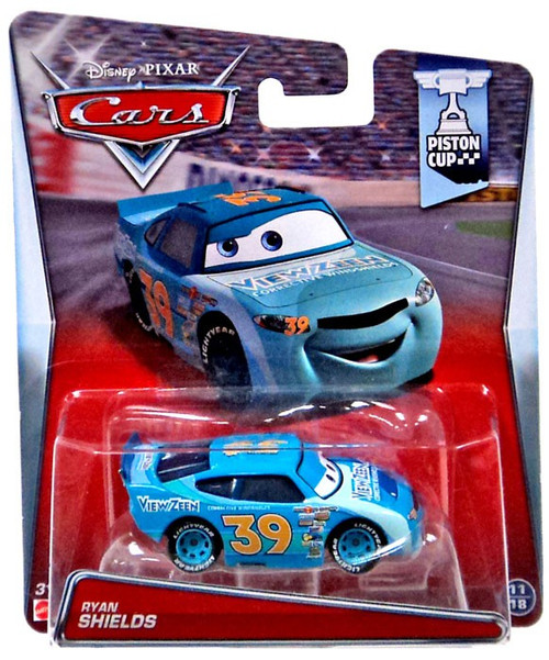 Disney Cars Piston Cup Ryan Shields 155 Diecast Car 1118