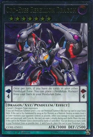YuGiOh Clash Of Rebellions Single Card Ultimate Rare Odd