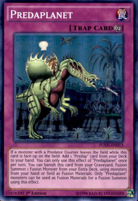 YuGiOh Fusion Enforcers Single Card Super Rare Predaplanet