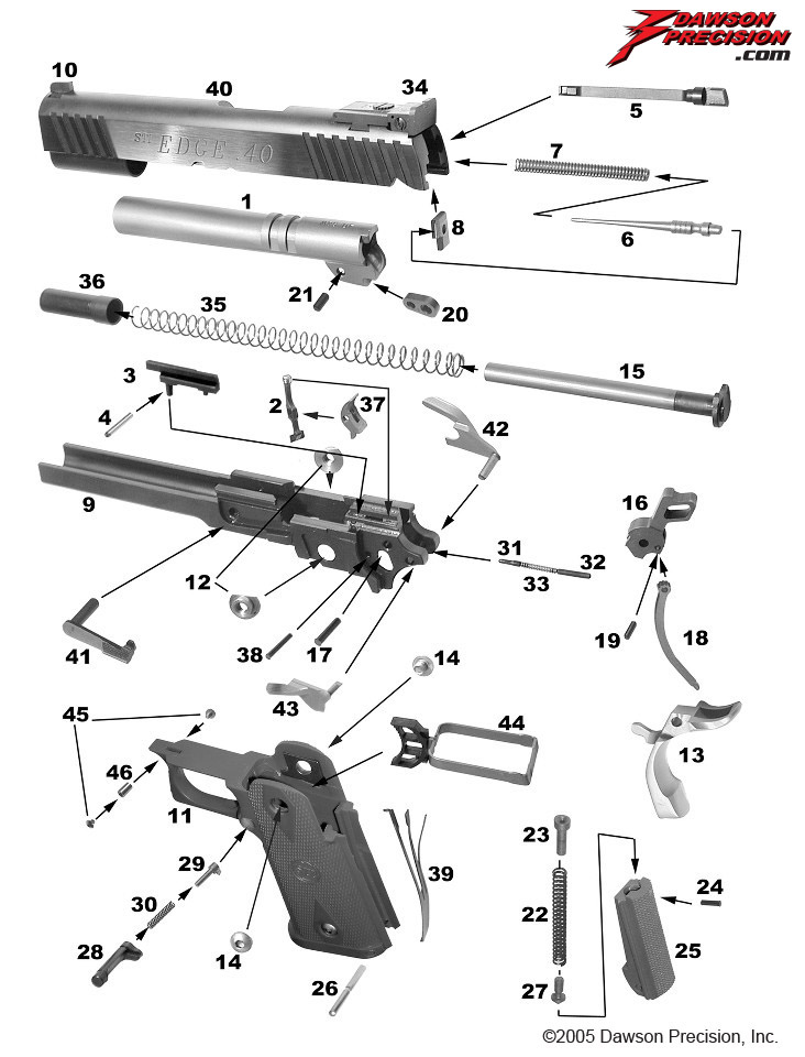 Glock 19 Gen 3 Parts List | Reviewmotors.co on