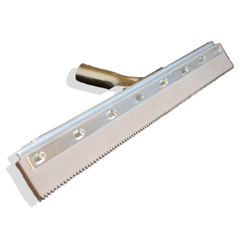 Notched Squeegee This Squeegee Is Designed To Spread