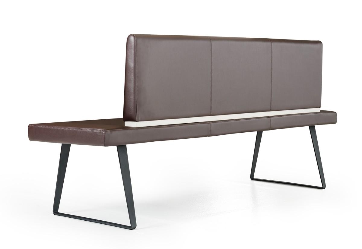 Vanderbilt Dining Bench With Back Upholstered Kitchen Bench