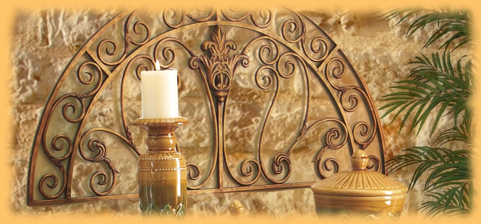 Tuscan Wall Decor   BellaSoleil com Tuscan Decor and Italian Pottery Tuscan Wall Decor