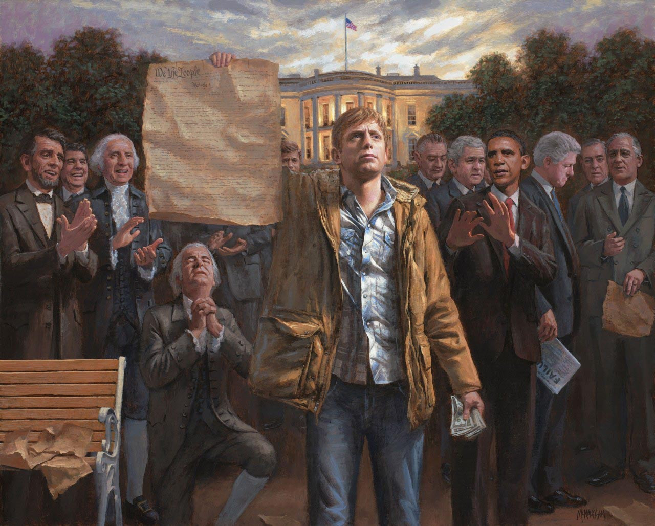 Image result for the forgotten man jon mcnaughton meaning