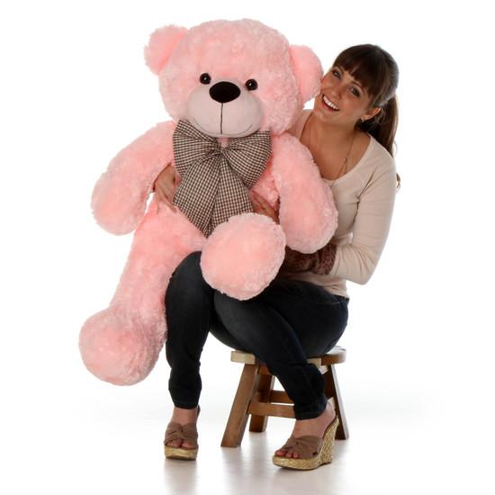 Lady Cuddles 38 Big Pink Cute Plush Teddy Bear Giant