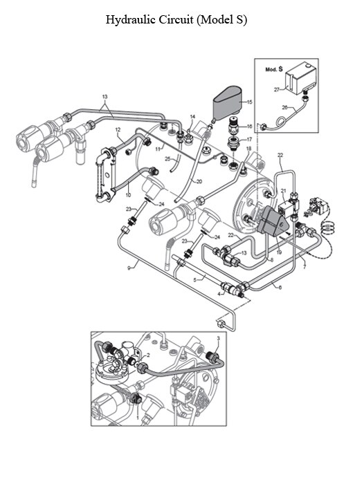 Rancilio Epoca 2 Group  Parts Diagram