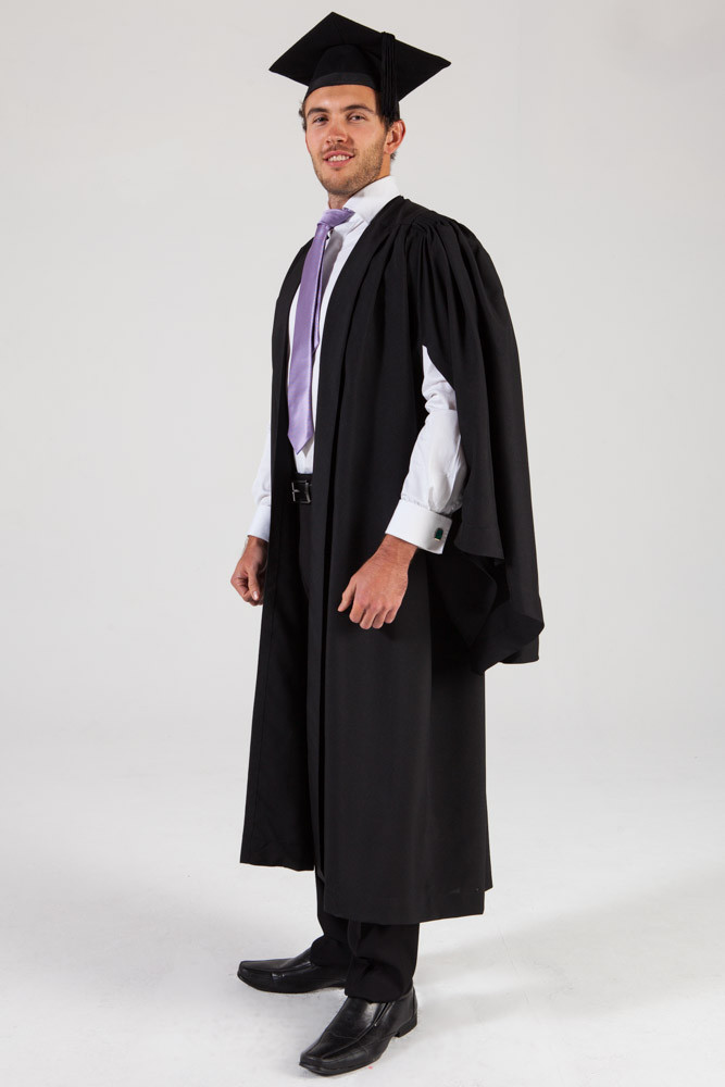University Gown Cap Bachlors Degree Phoenix And