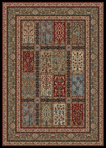 Dean 53 X 77 Panel Eden Multicolor Oriental Area Rug