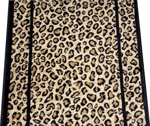 Dean Cheetah Carpet Rug Hallway Stair Runner   Carpet Stair Runners By The Foot