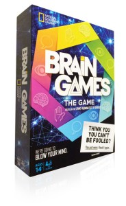 Brain Games The Game   Buffalo Games National Geographic s Brain Games Box