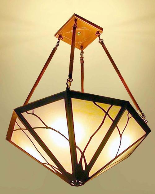 Chandelier Art Nouveau Design