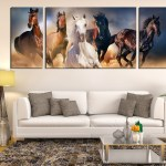 Large Horse Paintings On Canvas Home Decor Ideas
