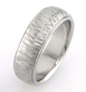 Tribal Matte Black Wedding Ring Matte Wedding Rings By