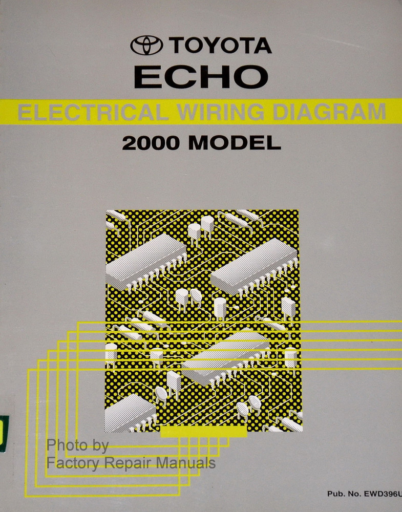 2000 Toyota Echo Electrical Wiring Diagrams Original