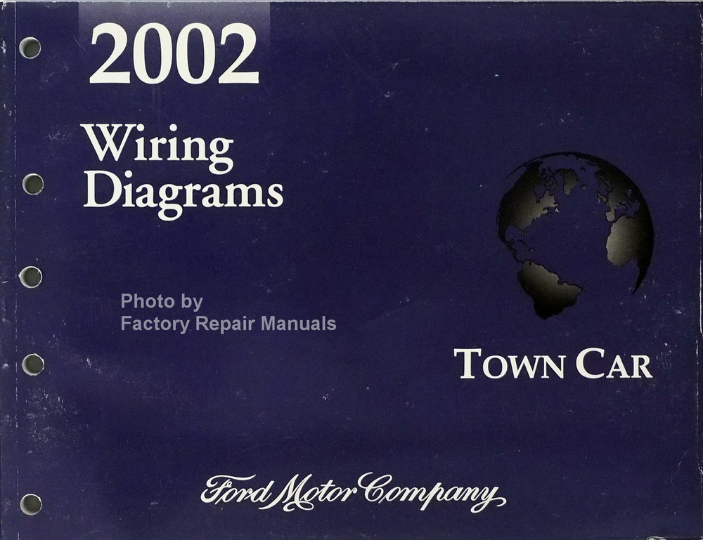 2002 Lincoln Town Car Electrical Wiring Diagrams