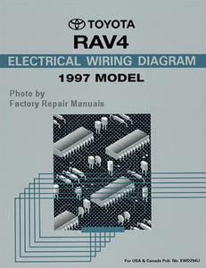 1997 Toyota RAV4 Electrical Wiring Diagrams Original RAV 4