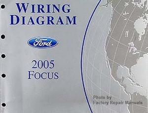 2005 Ford Focus Electrical Wiring Diagrams Original Factory Manual  Factory Repair Manuals