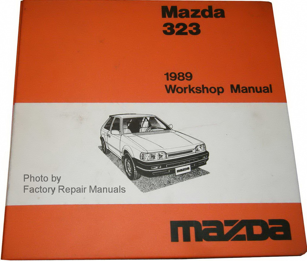 1989 Mazda 323 Factory Shop Manual & Wiring Diagrams