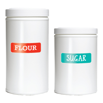Designer Pantry Labels