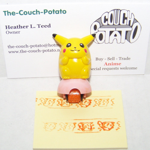 Pokemon Pikachu Roller Stamp
