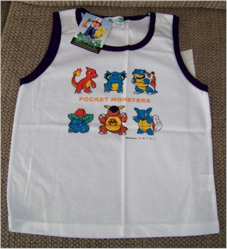 Pokemon Shirt Pocket Monsters Tank top