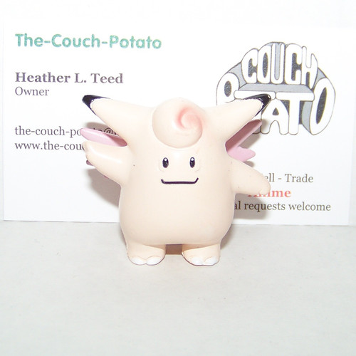 Pokemon Clefable Tomy Figure