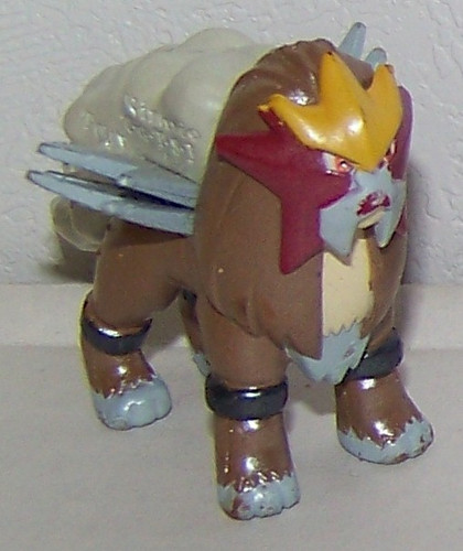 Pokemon Entei Pearlized Tomy Figure