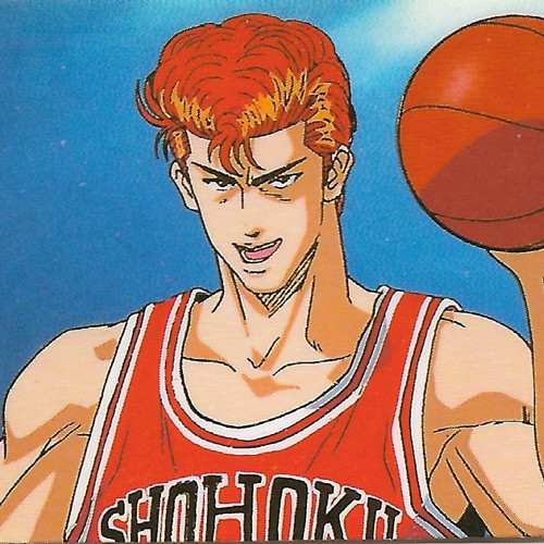 Slam Dunk Hanamichi Sakuragi Bookmark Sticker