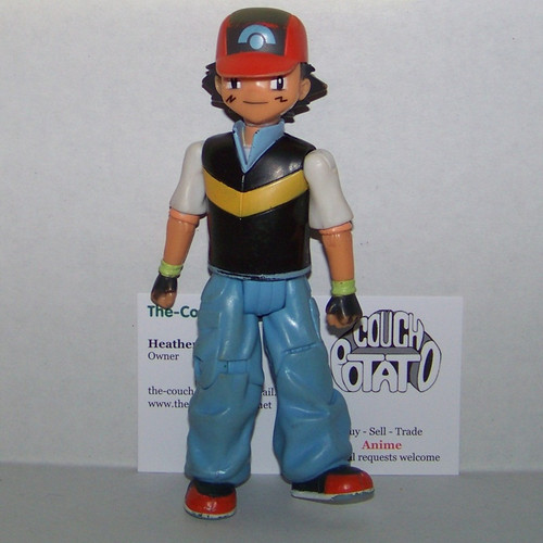 Pokemon Ash Jakks toy figure