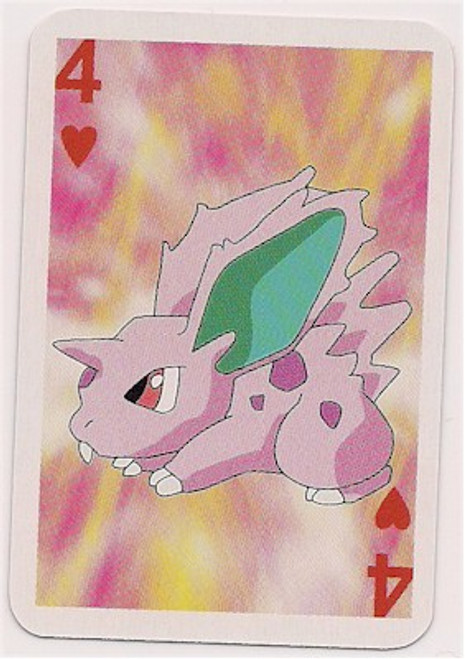 Pokemon Nidoran Male Mini Playing Card