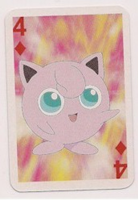 Pokemon Jigglypuff Mini Playing Card