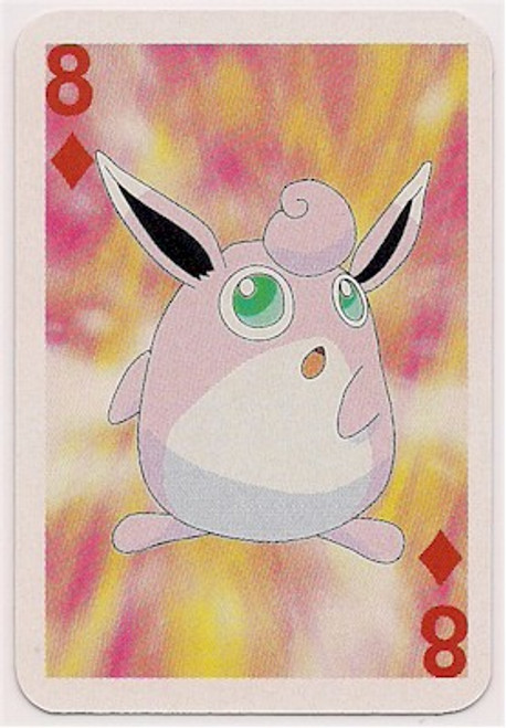 Pokemon Wigglytuff Mini Playing Card