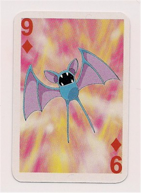 Pokemon Zubat Mini Playing Card