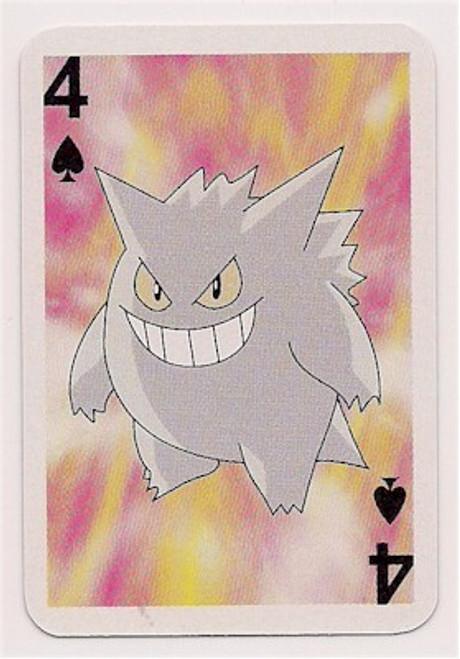 Pokemon Gengar Mini Playing Card