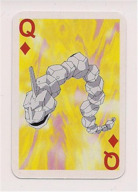 Pokemon Onix Mini Playing Card