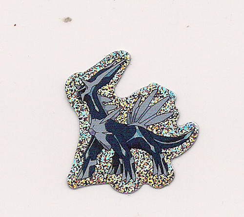 Pokemon Dialga small foil sticker