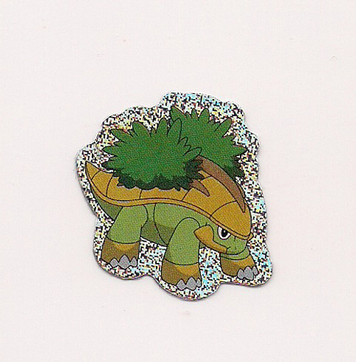 Pokemon Grotle small foil sticker