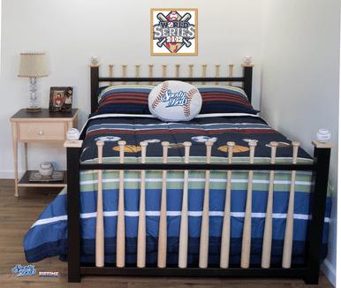 Baseball Bed Grand Slam Full 3 Pc Headboard Foot