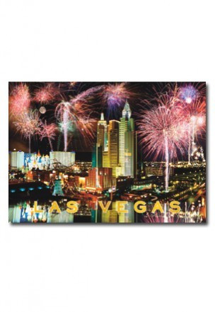 Image result for postcards las vegas fireworks
