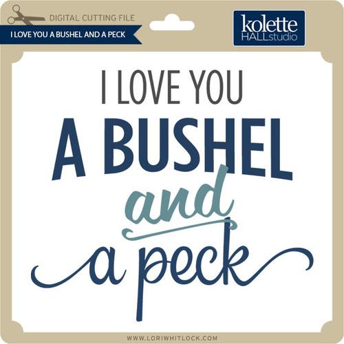 Download Bushel & a Peck - Lori Whitlock's SVG Shop