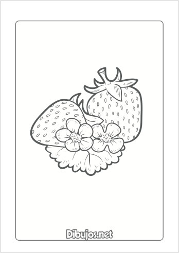 Dibujos De Frutas Y Verduras En Ingles Para Colorear On Log Wall